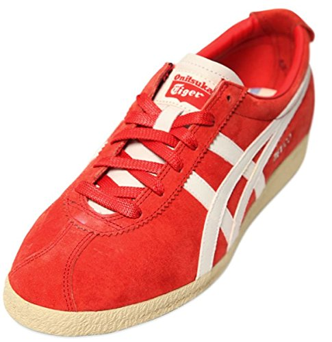 Onitsuka Tiger Mexico Delegation Rosso Bianco Suede Uomo Sneakers Scarpe