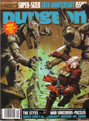 Download Dungeon Magazine #138 20th Anniversary Issue pdf epub