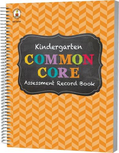 Common Core Assessment Record Book, Grade K
