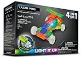 Laser Pegs 4-in-1 Cars Building Set