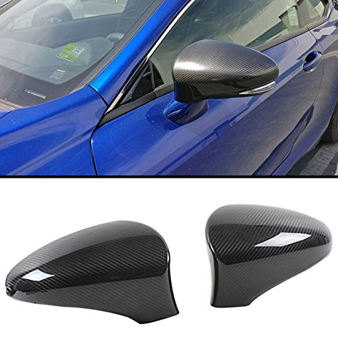Cuztom Tuning Fits for 2013-2018 Lexus Models Direct Add-on Carbon Fiber Side Mirror Cover Caps Pair