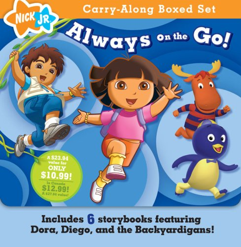 Download Always on the Go! (Nick Jr. Carry-Along Boxed Set) ebook