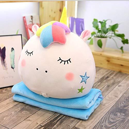 Amazon.com: EXTOY Colorido unicornio de peluche 2 en 1 ...