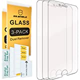 Mr Shield [3-Pack] for iPhone 6 Plus/iPhone 6S Plus [Tempered Glass] Screen Protector with Lifetime Replacement Warranty