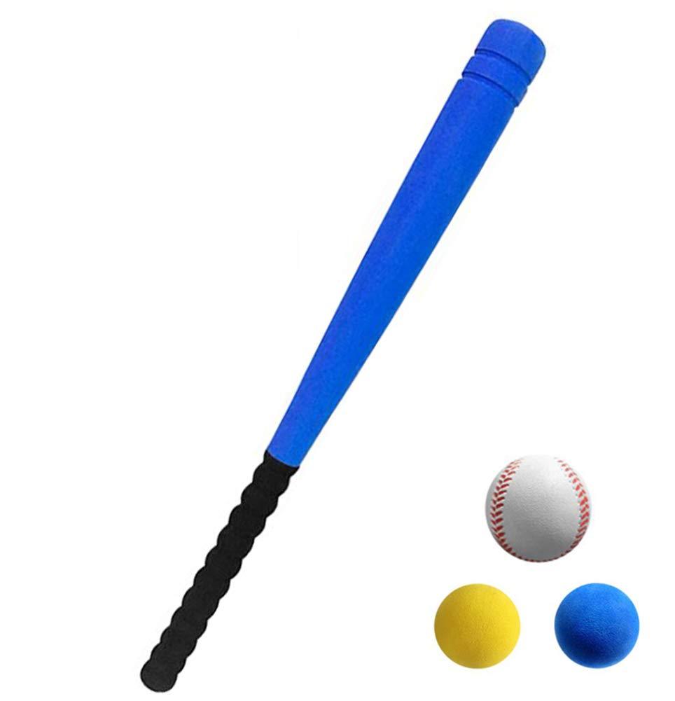 アウトドアゲーム楽しいスポーツToys for Kids Baseball Set With Carrying野球バッグ、アルミ野球バット、PUレザー野球グローブ、ソフト野球 – ユース野球おもちゃ B07DPRQRP3 Foam baseball bat