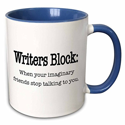 3dRose mug 157392 6 Writers Imaginary Friends