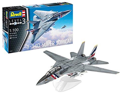 (Revell 03950 - F-14D Super Tomcat 1: 100 Scale Model Kit)
