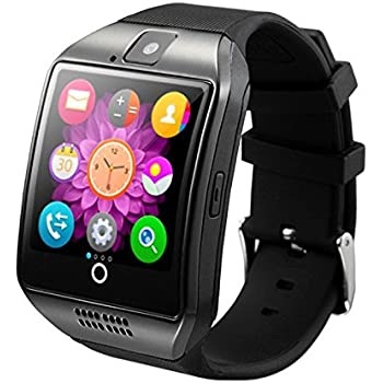 Amazon.com: Bluetooth Smart Watch Reloj Inteligente Q18 with ...
