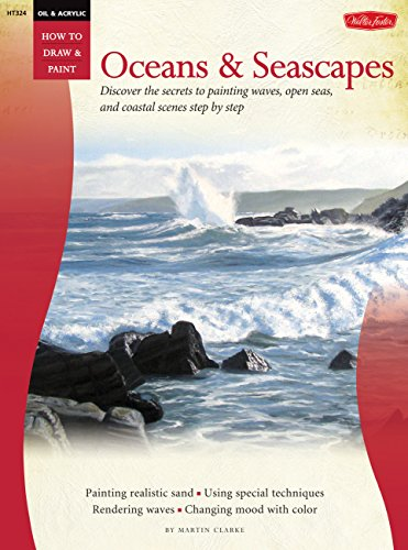 Walter Foster Creative Books-Oil & Acrylic: Oceans & Seascapes (How to Draw & Paint) (Book Foster Walter)