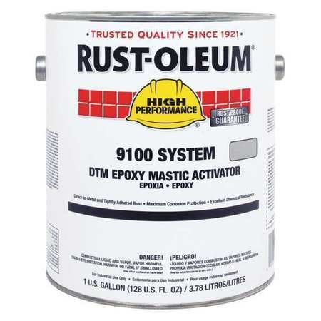 9100 Fast Cure Activator, 340 VOC, 1 gal. by Rust-Oleum