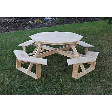 amazon com a l furniture co pressure treated pine 54 octagon rh amazon com Ruined Pine Outdoor Furniture Outdoor Furniture Pine Cracking