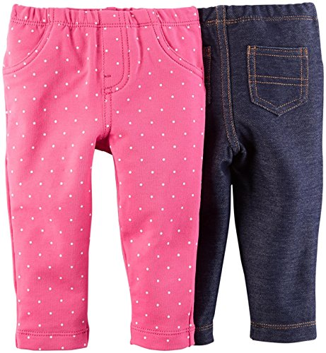 Carter's Baby Girls' 2 Pack Jeggings (Baby)