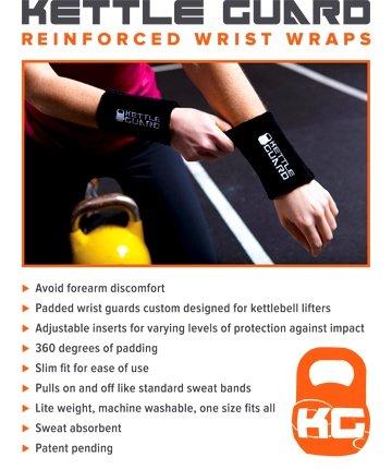 KettleGuard Kettlebell Wrist Guard