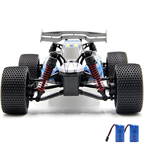 GMAXT Rc Cars For 9117 Remote Control Car,1/12 Scale 28km/h,2.4Ghz 2WD High Speed off-road Vehicles With 2 Rechargeable Batteries, Give the Child the Best Gift