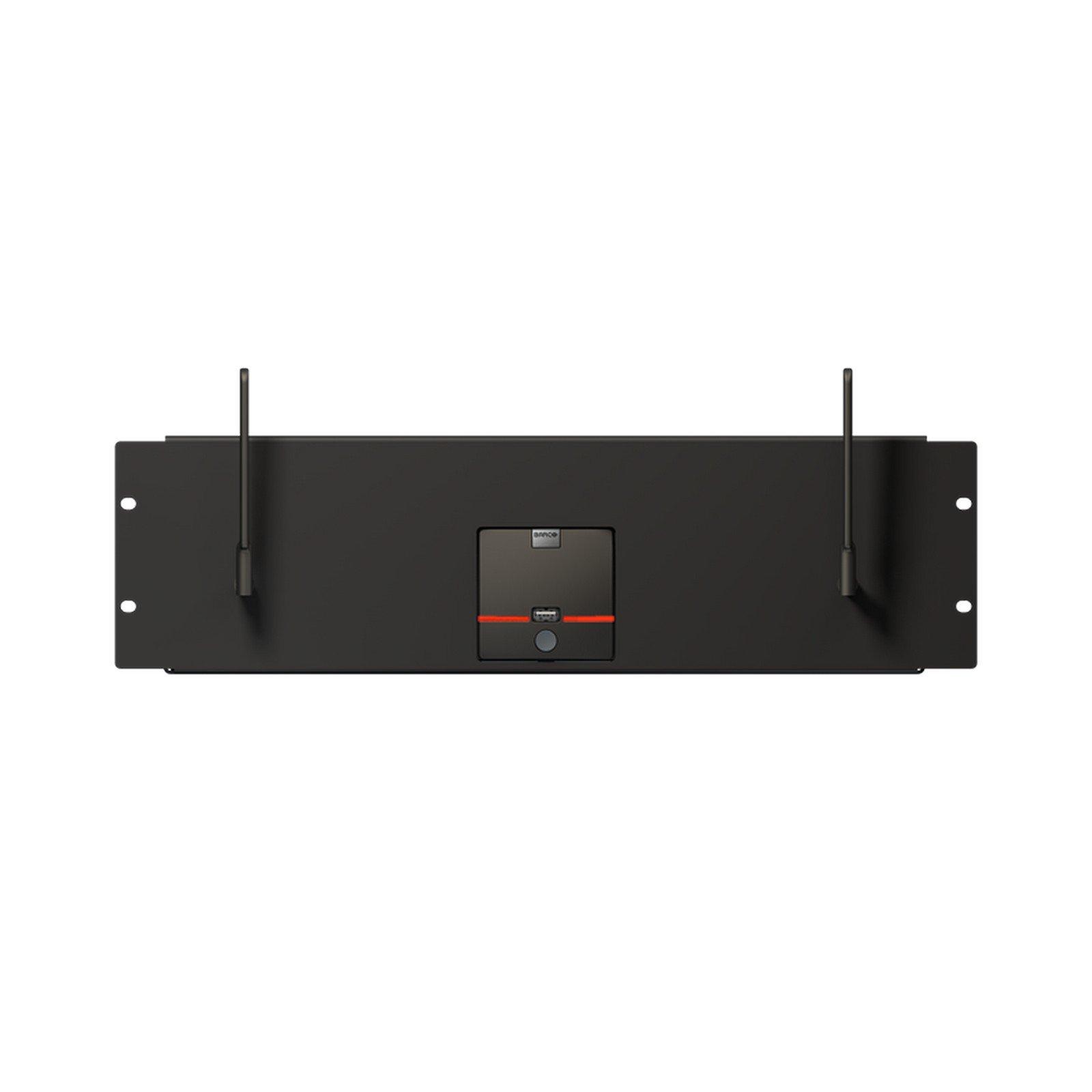 Barco R9861006R01   ClickShare Base Unit Rack Mount for R9861006BNA