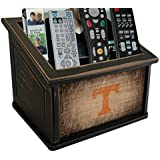 Fan Creations C0765-Tennessee University of Tennessee Woodgrain Media Organizer, Multicolored