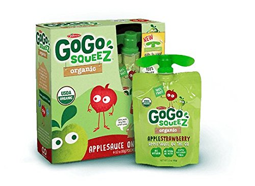 Go Squeeze Organic Applesauce Strawberry product image