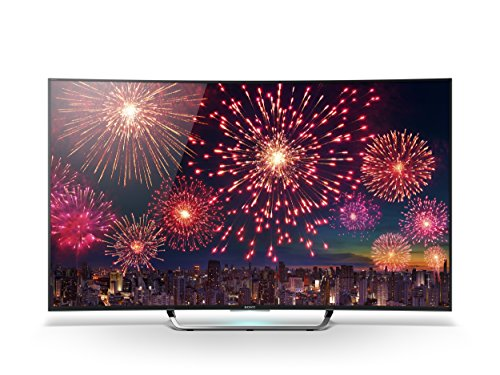 Sony KD65S8005CBAEP 163,9cm (65 Zoll) Curved Fernseher (4K Ultra HD, Triple Tuner, 3D, Android TV)