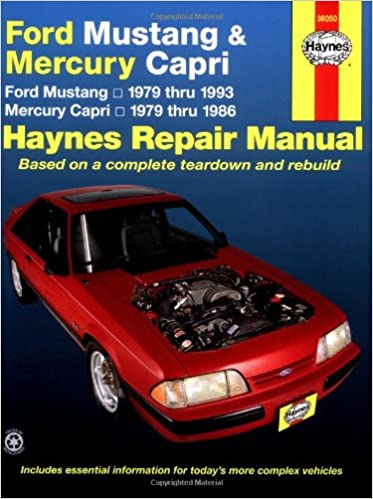 Ford mustang mercury capri 7993 haynes repair manuals ford mustang mercury capri 7993 haynes repair manuals 1st edition fandeluxe Images