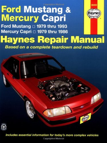 Ford Mustang / Mercury Capri '79'93 (Haynes Repair Manuals)