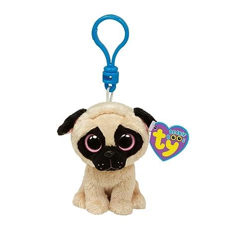 Amazon.com  BEANIE BOOS Ty Pugsly Pug Dog - Clip  Toys   Games 329f442928
