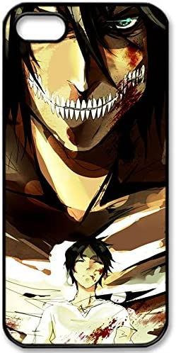 Anime Attack On Titan Wallpaper Background And Lock Screen 49 Phone Cases For Iphone5 5s Amazon Ca Electronics