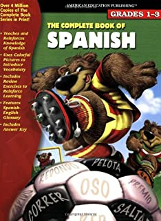 The Complete Book of Spanish (English and Spanish Edition)