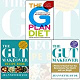 The G Plan Diet, The Gut Makeover and Recipe Book 3 Books Bundle Collection - The revolutionary diet for gut-healthy weight loss, 4 Weeks to Nourish Your Gut, Revolutionise Your Health and Lose Weight