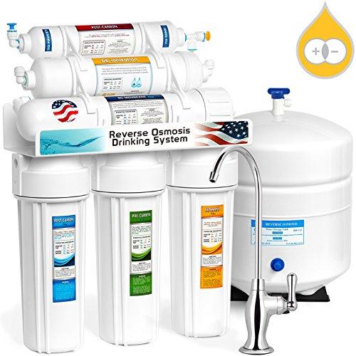 Express Water RODI10D 6 Stage Deionization + Reverse Osmosis Drinking Water...
