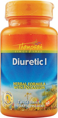 Thompson Diuretic - Thompson Diurectic I -- 90 Capsules - 2PC