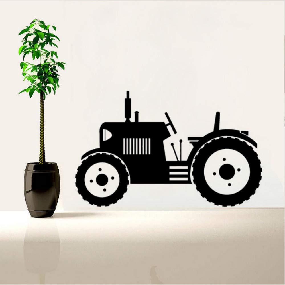 Mrhxly Tractor Tatuajes De Pared Neumáticos Grandes Vehículo ...