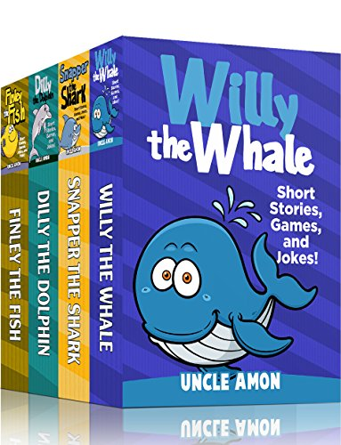 Underwater Stories Bundle (4 BOOKS IN 1): 20 Short Stories, Jokes for Kids, Games, Puzzles, and More! (Fun Time Reader Bundle) (English Edition)