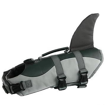 Amazon.com: Perro de mascota flotador salvavidas Chaleco ...