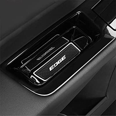 Vesul Black Front Row Door Side Storage Box Handle Pocket Armrest Phone Container Fits on Ford Edge 2015 2016 2020 2020 2020 2020: Automotive