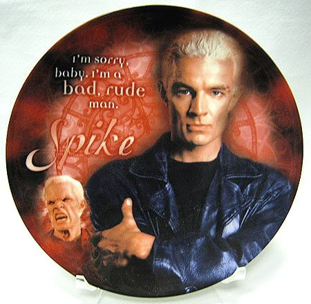 (Buffy the Vampire Slayer Series 1 Collector Plate: Spike - UK Import)