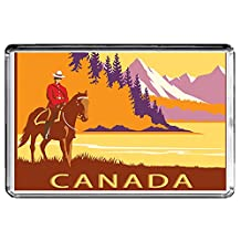 B047 CANADA FRIDGE MAGNET CANADA VINTAGE TRAVEL PHOTO REFRIGERATOR MAGNET