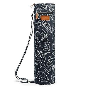 Well-Being-Matters 510KiinnatL._SS300_ ELENTURE Yoga Mat Bag for 1/4-Inch 1/3-Inch Thick Exercise Yoga Mat, Exercise Yoga Mat Carrier Full-Zip Yoga Carry Bag…