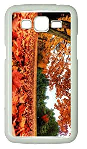custom made caseAutumn Maple Leaves PC White case/cover for Samsung Galaxy Grand 2/7106