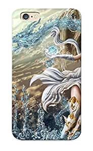 Awesome XAD395bUqLB Flyingangela Defender Tpu Hard Case Cover For Iphone 6- Angels Magic Skirt Wings Fantasy Girls