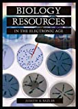 img - for Biology Resources in the Electronic Age (Science Resources in the Electronic Age) book / textbook / text book