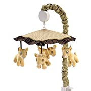 Disney Lion King Simba's Wild Adventure Musical Mobile, Ivory, Brown, Sage, Tan