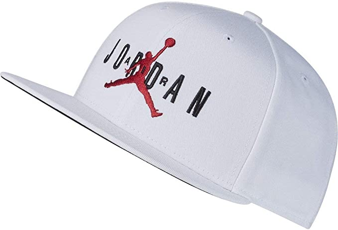 Jordan Pro Jumpman Air Hbr Gorra Hombre Blanco Ajustable: Amazon ...