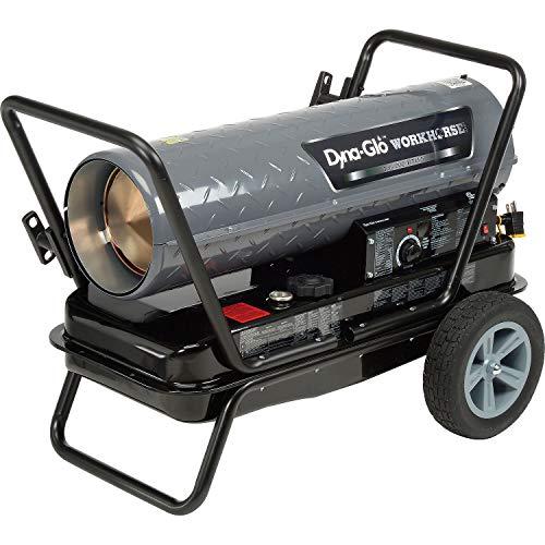 Dyna-Glo Workhorse KFA135WH, 135K BTU Kerosene Forced Air Heater, Lot of - Forced Heater Kerosene Btu Air