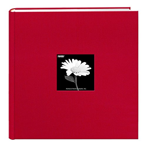 Pioneer Photo Albums DA-500CBF/R DA-500CBF Apple Red Photo Album, 500 Pocket 4x6,