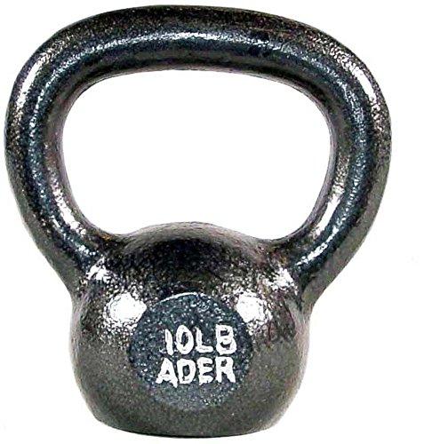 Ader Premier Kettlebell Set w/ Dvd- (10, 20, 30, 40, 50lb) by Ader Sporting Goods (Image #1)