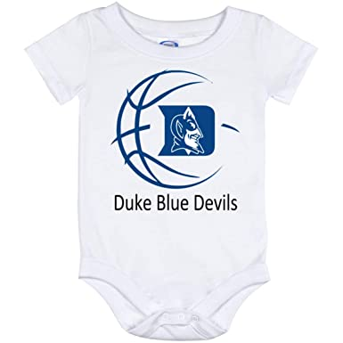 e2843f4ecdf3 Amazon.com  LiliGift Duke Blue Devils Basketball Baby Bodysuit ...