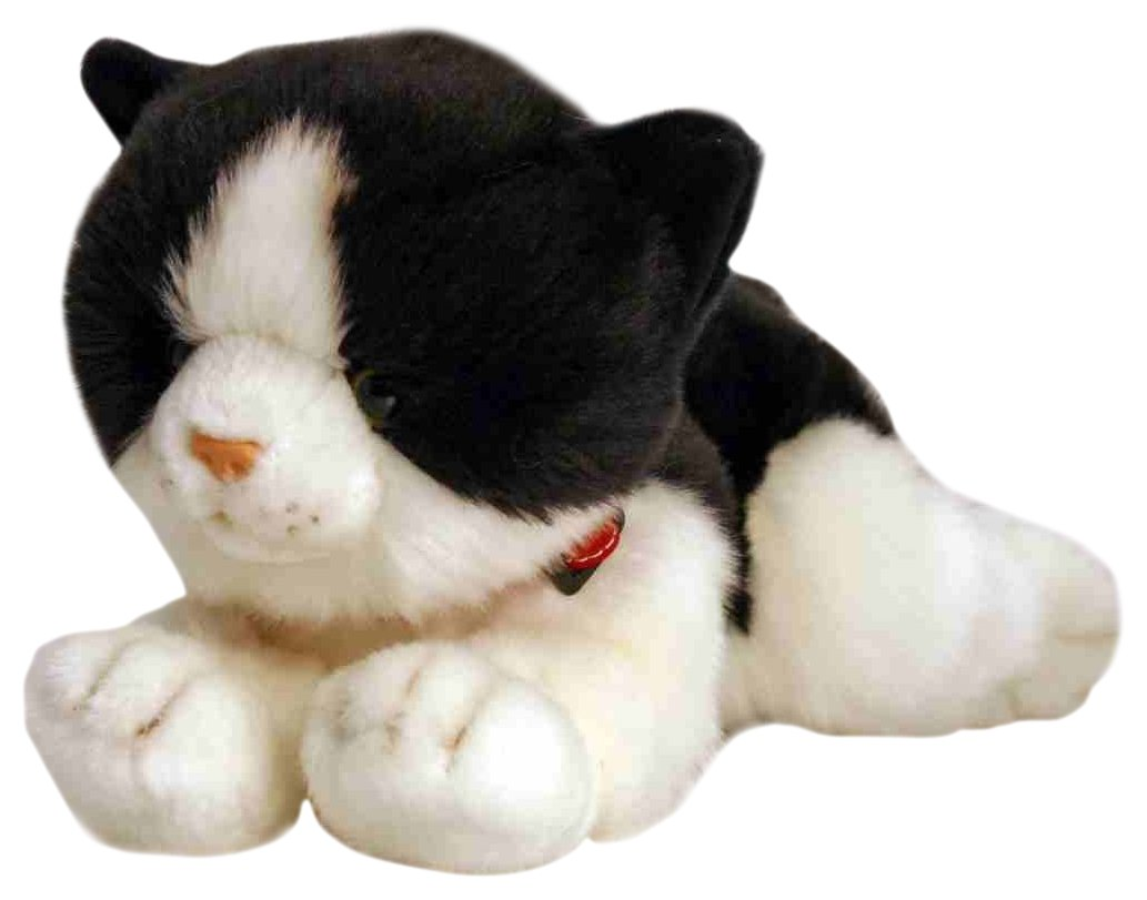 Keel Toys 30cm Laying Cat (Smudge Black)  Amazon.co.uk  Toys   Games 80786dcd472fc