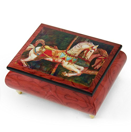 Handcrafted Ercolano Music Box Featuring ''If You Can Believe'' by Simon Bull - Rock of Ages - Christian Version by MusicBoxAttic