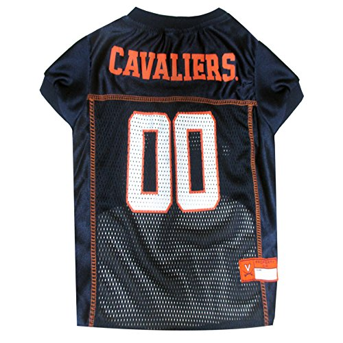 Pets First Collegiate University of Virginia Dog Mesh Jersey, - Shop Uva Gift