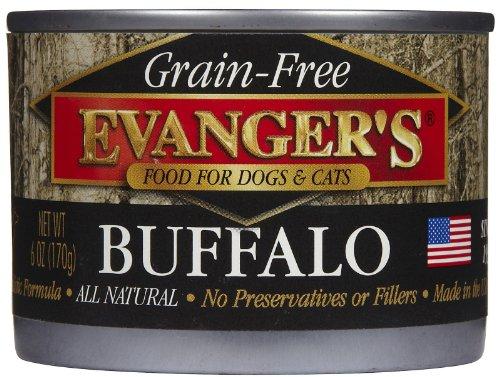- Evanger's Grain Free Buffalo - 24x6 oz